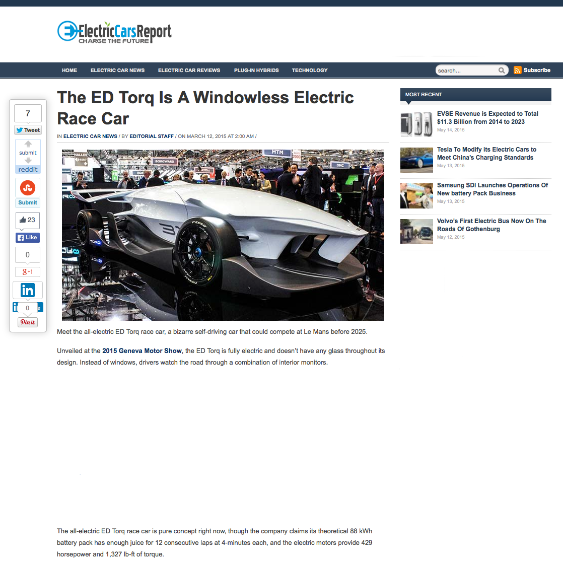EdDesignMediaTORQElectricCarsReport